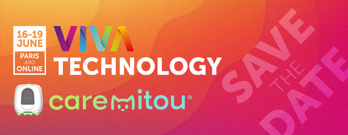 Caremitou at Vivatech from June 16 to 19